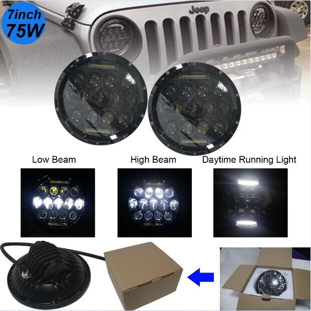 7 Inch  Round  LED Sealed Beam Headlights