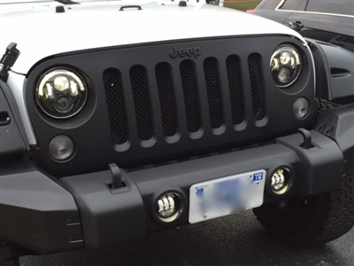 7 Inch Round Headlights with Halo LED